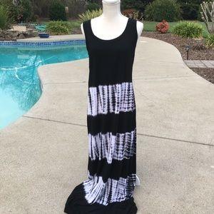 Karen Kane maxi tie die dress size L